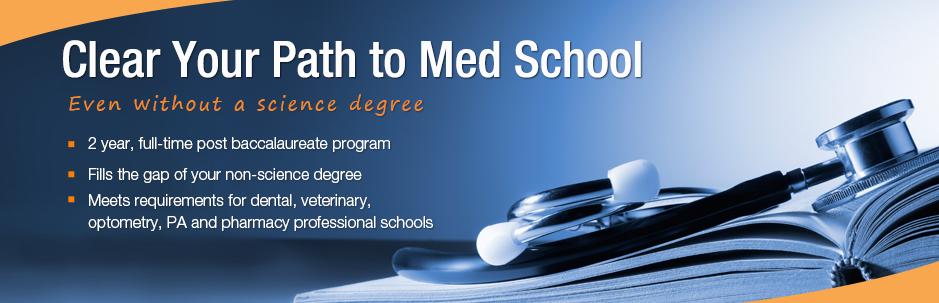 The Post Office Nische: Post-baccalaureate Medical School