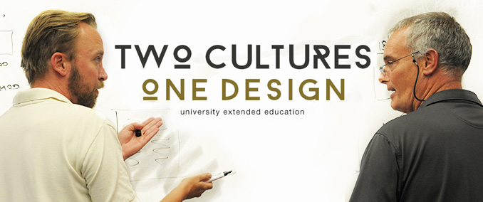 two cultures one design: university extended education at Cal State Fullerton