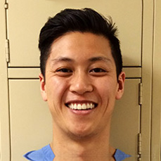 Pre-health post bacc dental alum Evan Chang.