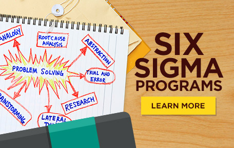Link to Six Sigma certification courses at Cal State Fullerton.