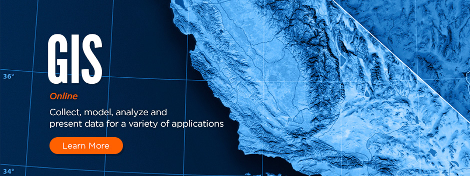 Link to GIS courses at Cal State Fullerton.